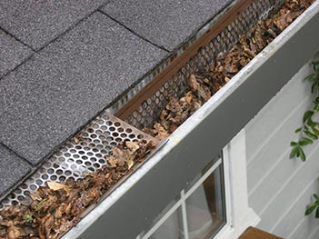 Riverside gutter cleaning