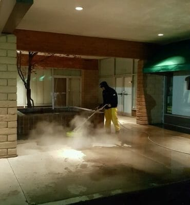 Pressure washing commercial Riverside CA